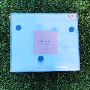 kate spade Queen Sheet Set